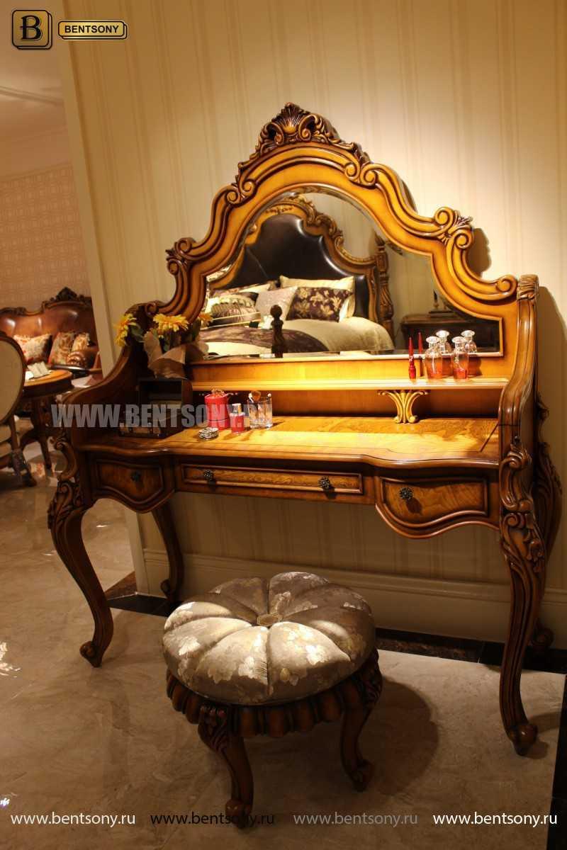 Стол туалетный Дакота с зеркалом (Классика, массив дерева) купить