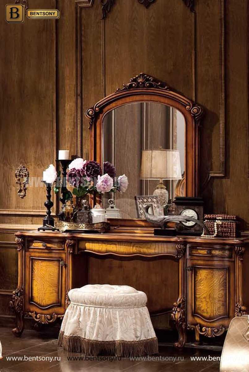 Стол туалетный Дакота B с зеркалом (Массив дерева, классика) купить в Москве