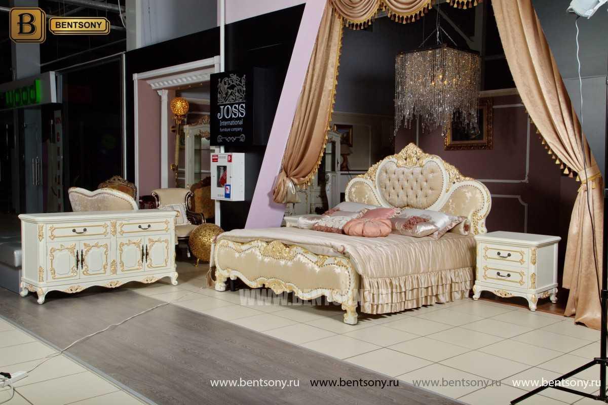 Спальня Амадео В (Классика, массив дерева, капитоне)