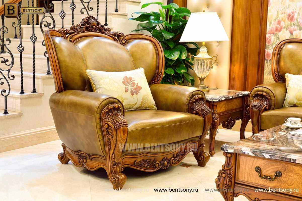Кресло Дакота А (Классика, Натуральная Кожа) цена