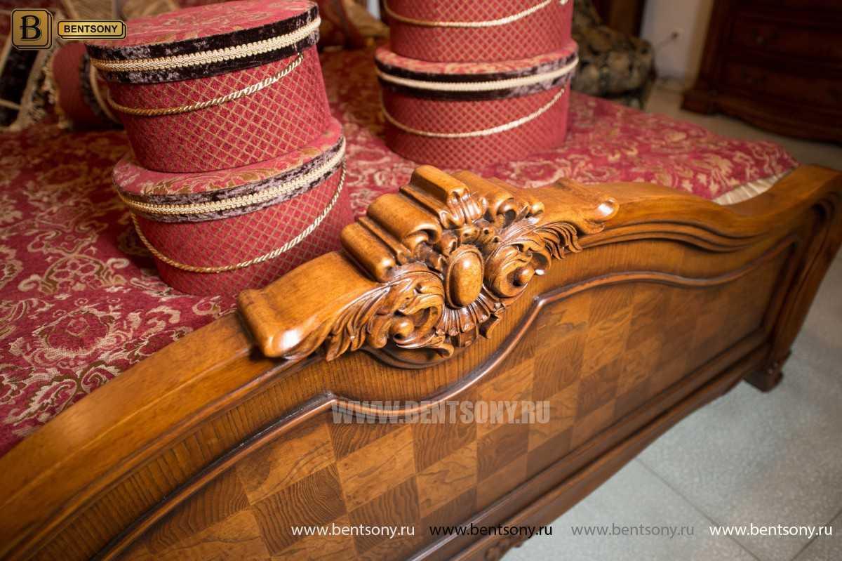 Кровать Монтана D (Классика, массив дерева) купить в СПб