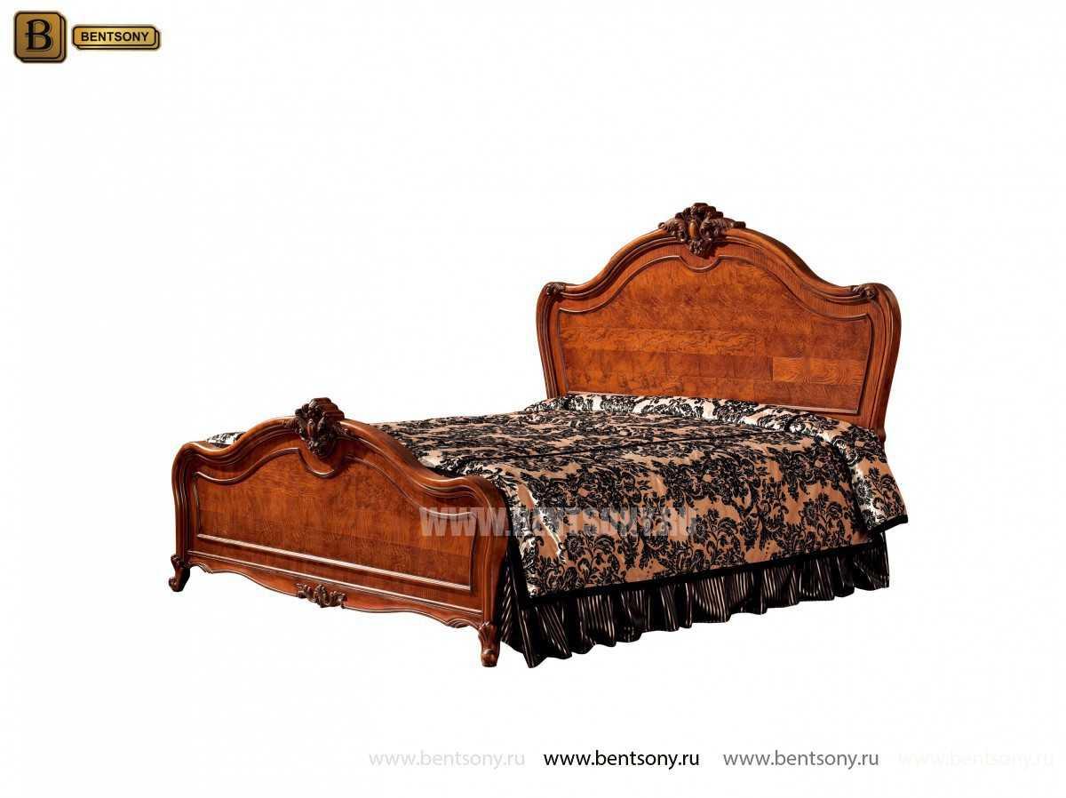 Кровать Монтана D (Классика, массив дерева) купить в Москве