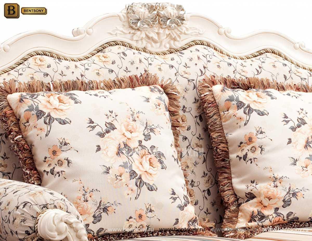 Диван двойной (Кушетка) Монтана Е (Классика, массив дерева) каталог мебели с ценами