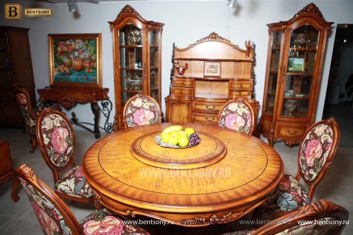Обеденный стол Дакота А (Круглый, массив дерева) в Москве