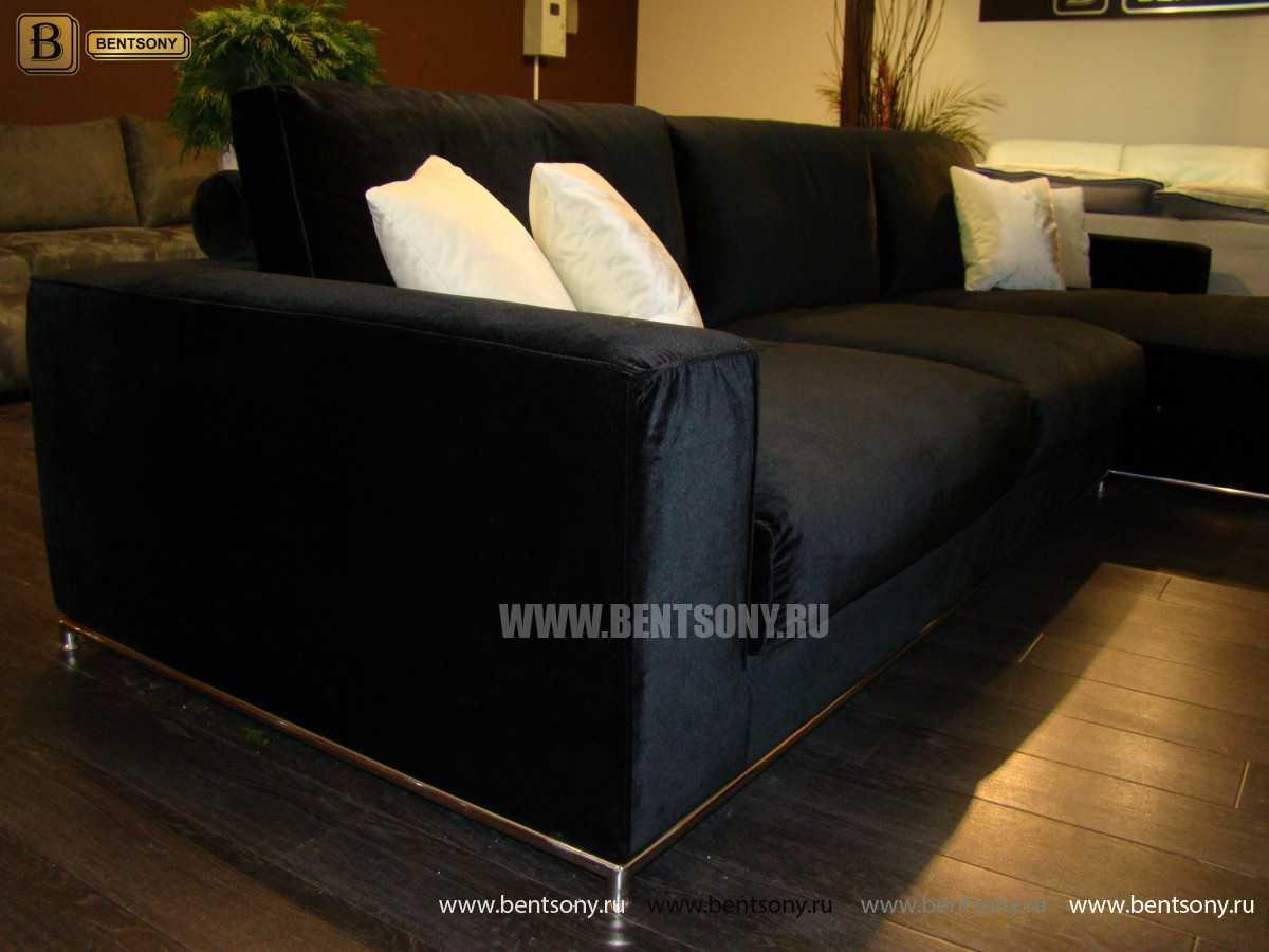 Диван Лучиано с шезлонгом каталог мебели