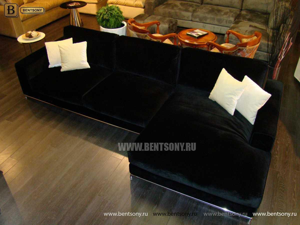 Диван Лучиано с шезлонгом каталог мебели с ценами