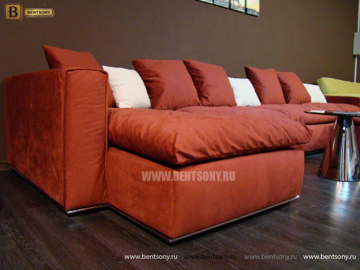 Red sofa Beniamino
