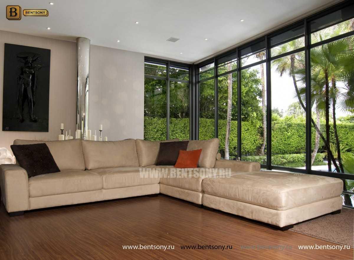 модульный диван Луиджи угловой в интерьере