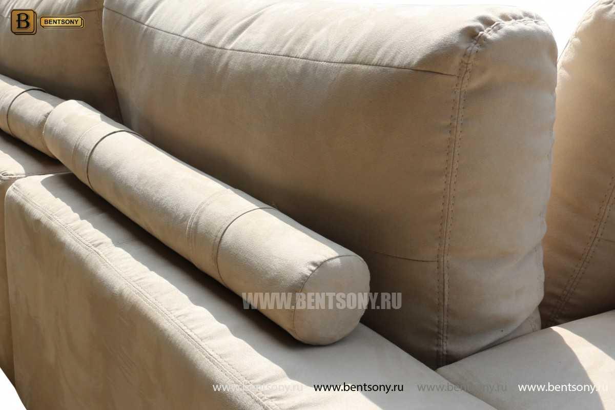 ткань дивана Луиджи замша