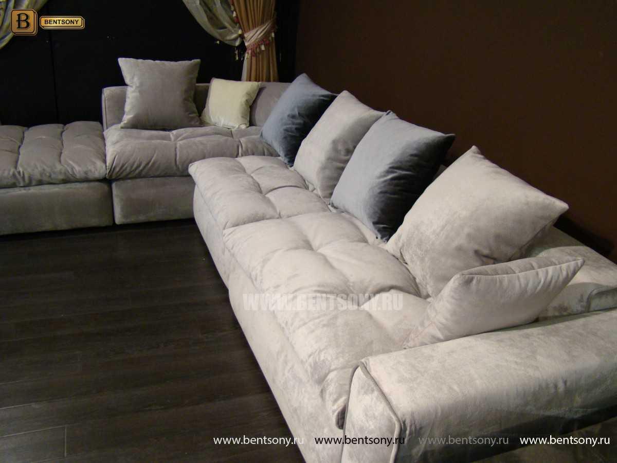 купить модульный угловой диван Бениамино
