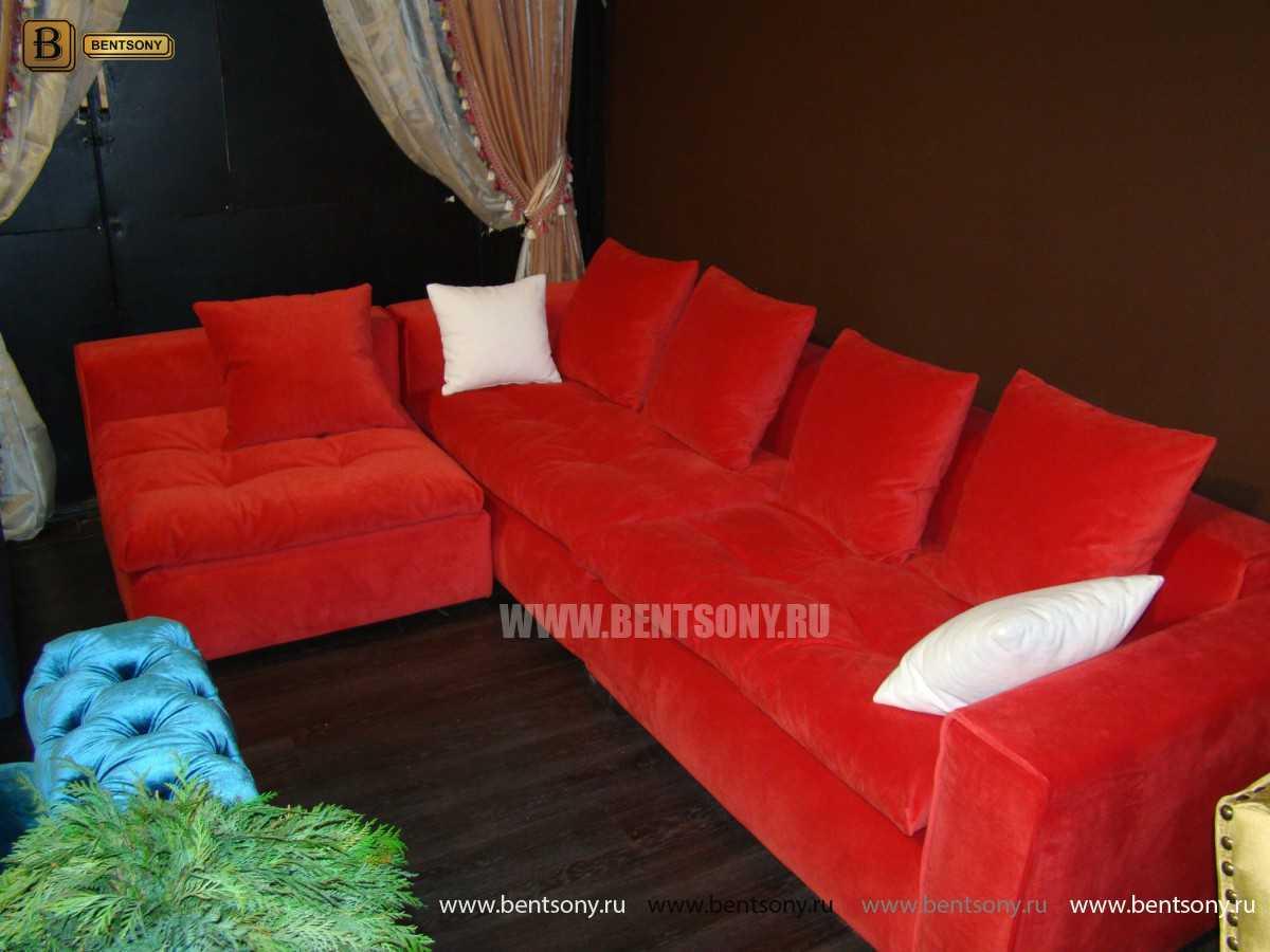 Красный цвет диван Бениамино