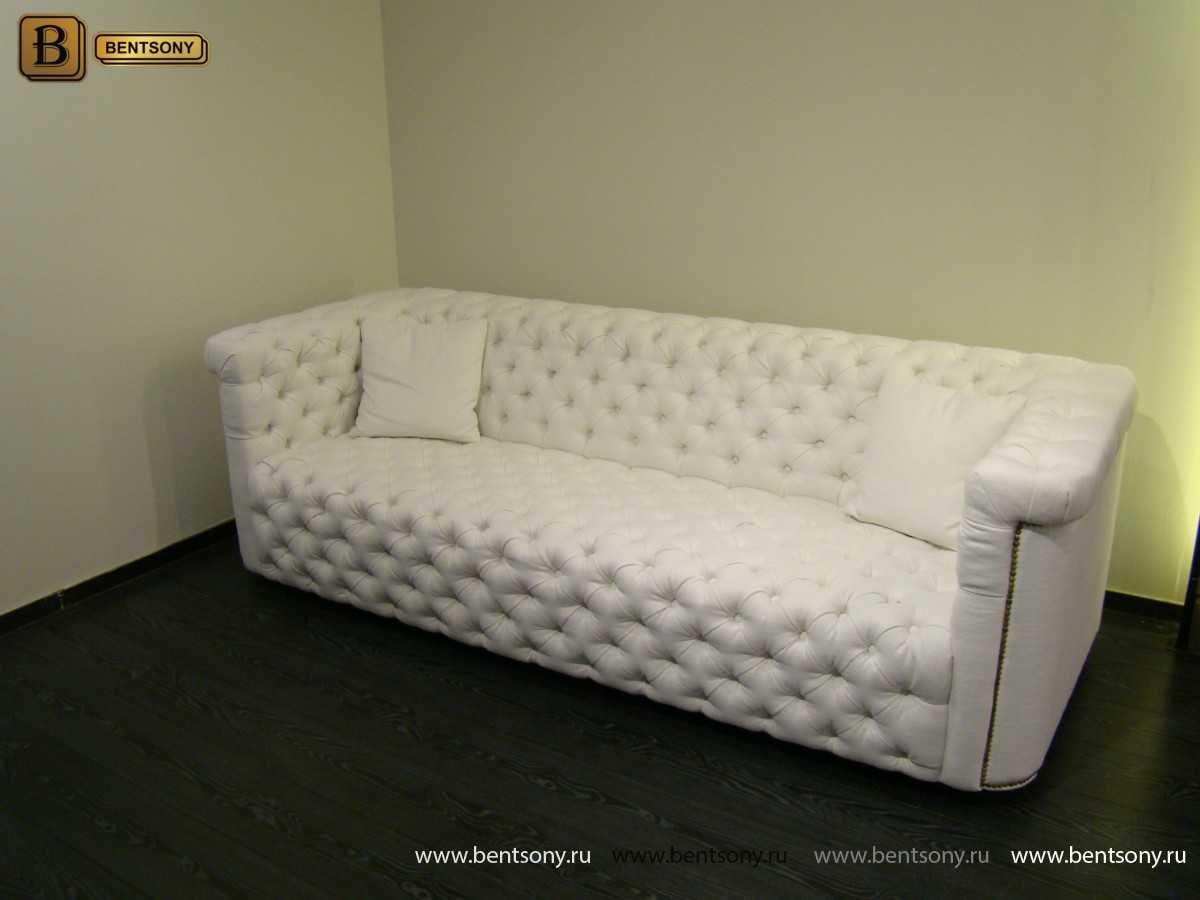 Диван Гардини (Прямой, Капитоне) каталог мебели с ценами