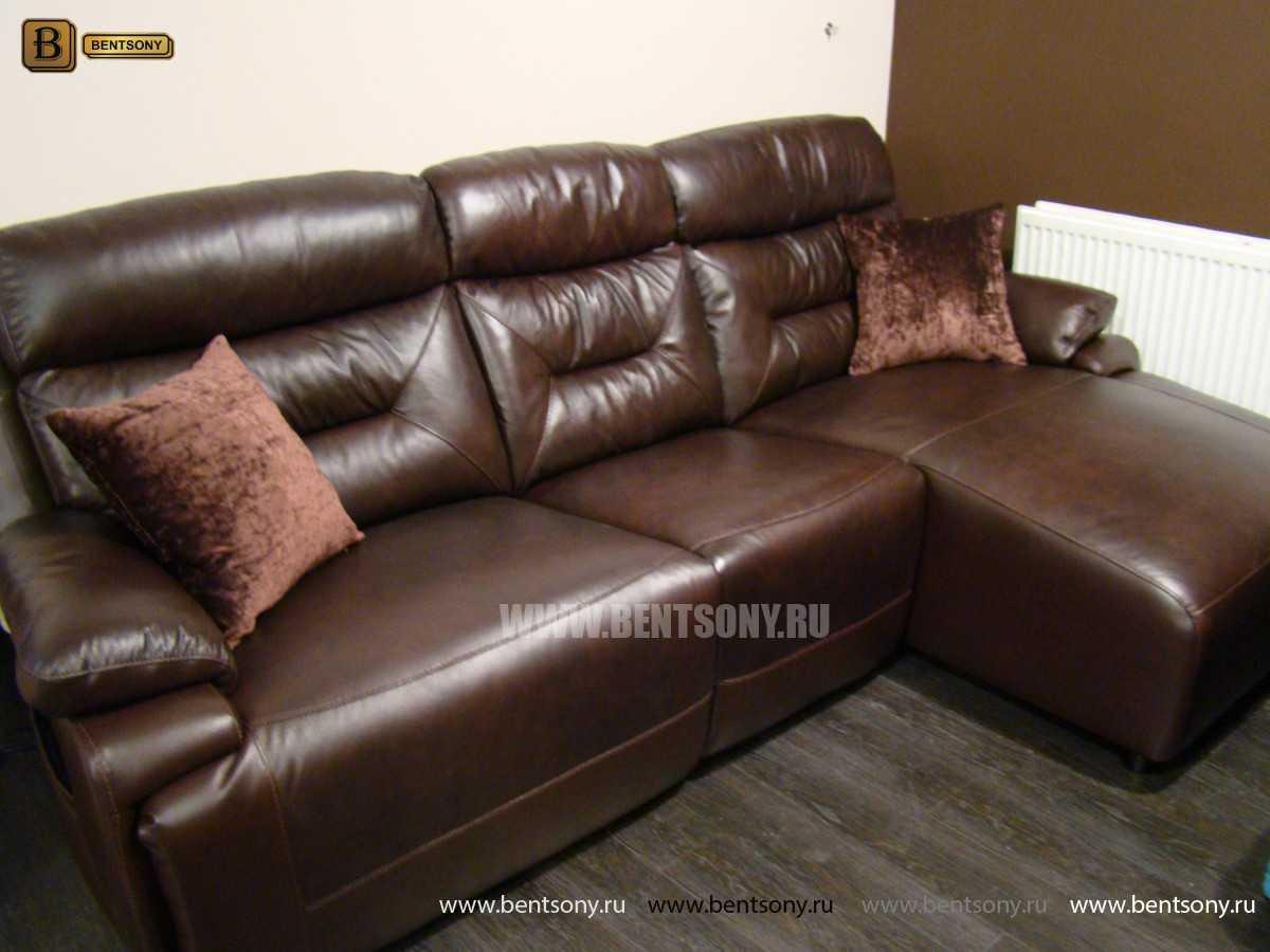 купить кожаный диван Амелия в москве