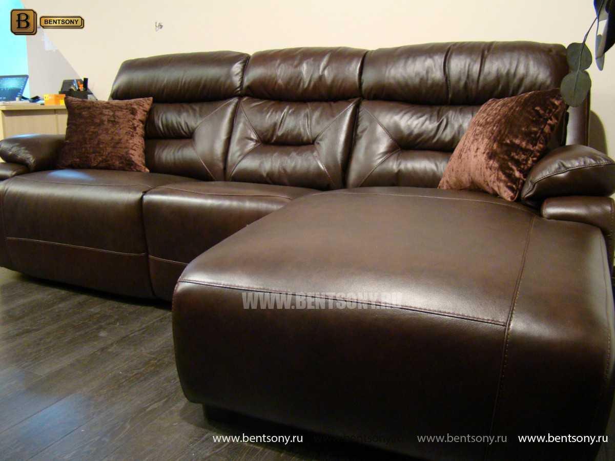 домашний диван Амелия реклайнером