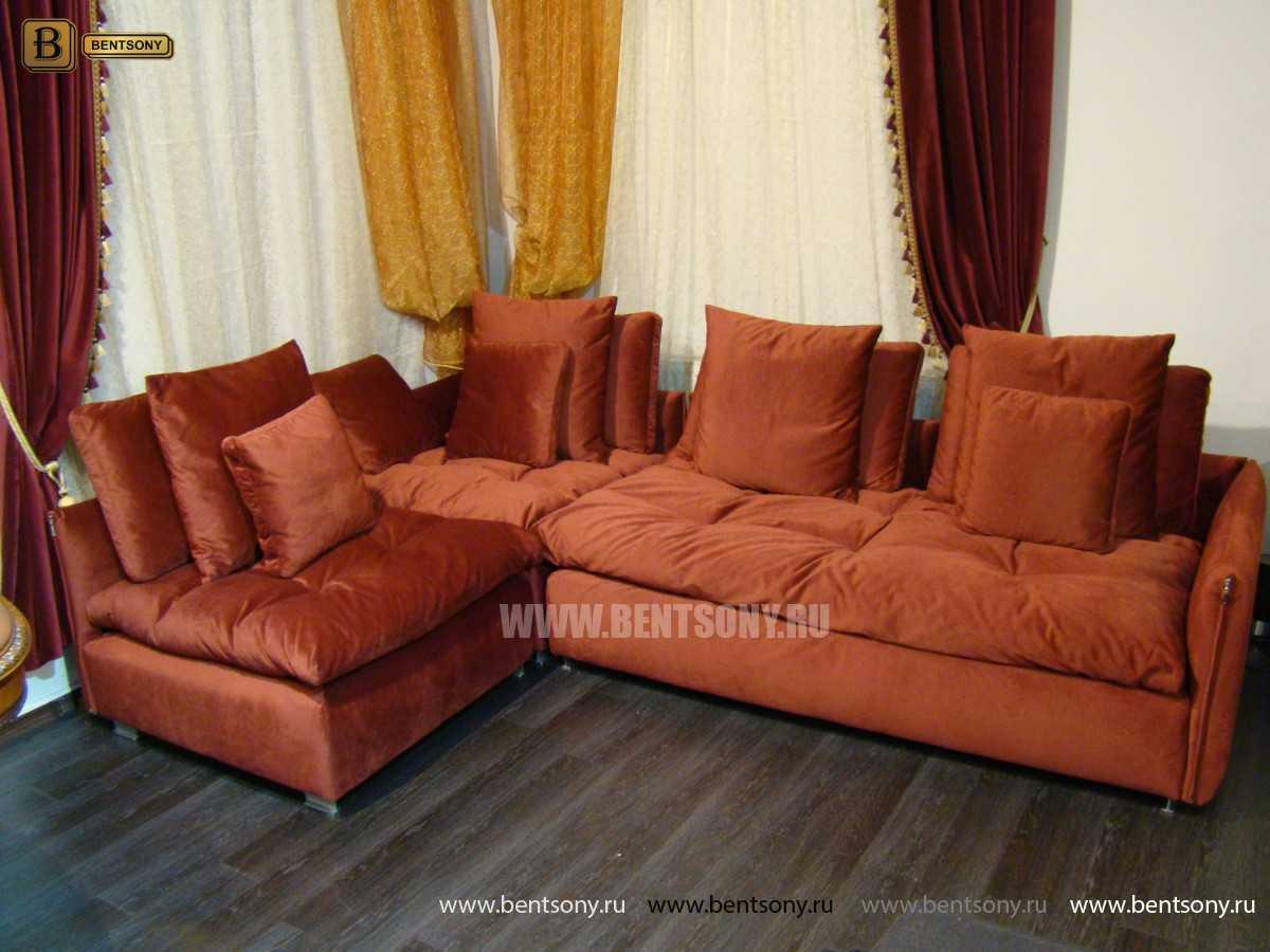 купить угловой диван Арлетто велюр