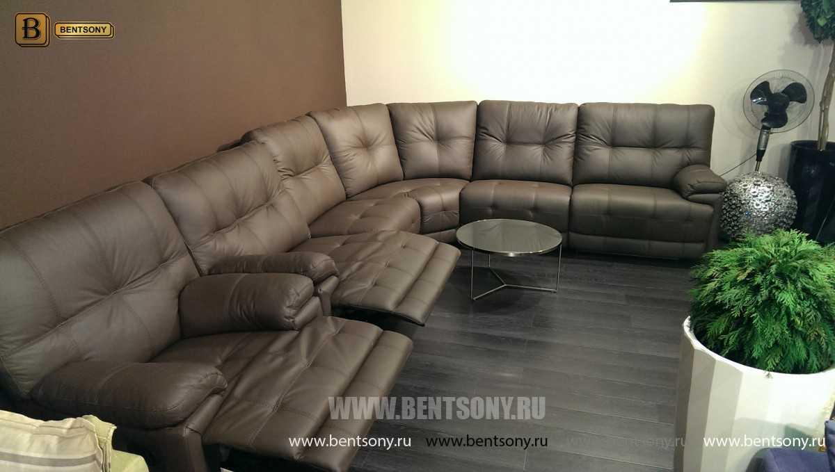 угловой диван Лексус в гостиной фото