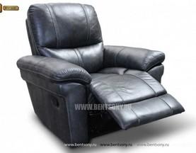 Кресло Греко (Реклайнер, Натуральная Кожа) для квартиры