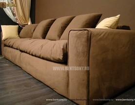 купить прямой диван тканевый
