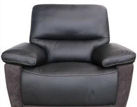 Кресло Филип (Реклайнеры, Натуральная Кожа, Алькантара) магазин Москва