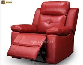 Кресло Рубен (Реклайнер, Натуральная Кожа) интернет магазин