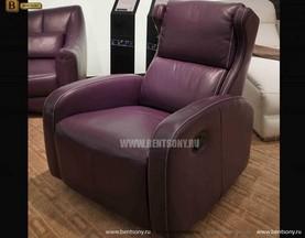 Кресло Джино (Реклайнер, Натуральная кожа) купить в СПб