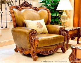 Кресло Дакота А (Классика, Натуральная Кожа) каталог мебели