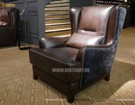 Кресло Альберто (Натуральная кожа) для квартиры