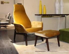 Кресло Ленчо (Деревянные ножки, Пуф) купить