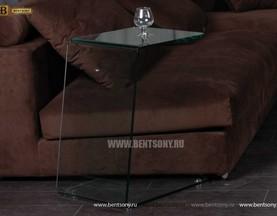 Стол Приставной (Гнутое тонированное стекло) цена