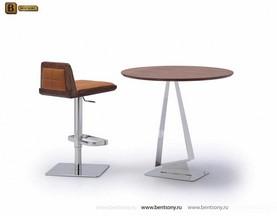 Стол Обеденный (Круглый, Деревянная столешница) каталог мебели с ценами