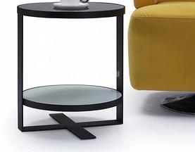 Стол Приставной (Круглый, тонированное стекло) официальный сайт цены