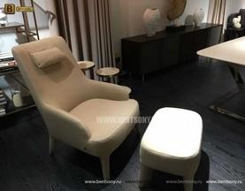 Кресло Тристан (С Пуфом, Ткань) магазин