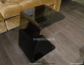 Стол Приставной (Гнутое тонированное стекло) в СПб