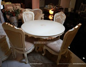 Обеденный стол Амадео 03 (Круглый) купить в СПб