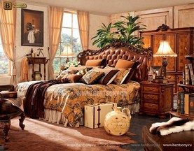 Кровать Феникс F (Классика, Натуральная Кожа) фото