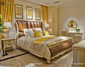 Кровать Феникс H (Классика, Натуральная Кожа) сайт цены