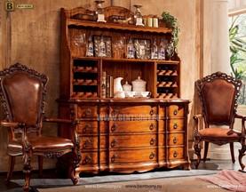 Комод с надстройкой Феникс В (Витрина, Буфет) каталог мебели