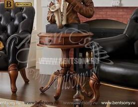 Стол чайный круглый Лоренс (деревяная  столешница) магазин Москва
