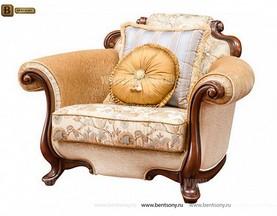 Диван Крофорд В (Классика, Ткань, массив дерева) для квартиры