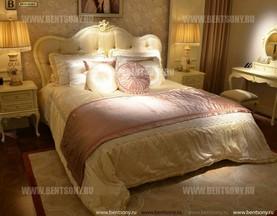 Кровать Митчел B (Классика, Массив дерева) изображение