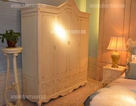 Шкаф 4-х дверный Митчел (Массив дерева, Классика) каталог с ценами