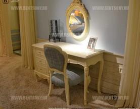 Стол туалетный Митчел А классический (Белый, Массив дерева) каталог мебели с ценами