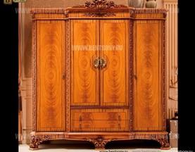 Шкаф 4-х дверный Белмонт А (Массив дерева, Классика) в Москве