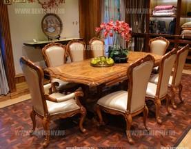 Стол обеденный раздвижной Белмонт (массив дерева) цена