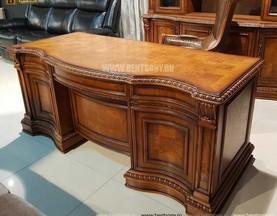 Письменный стол Монтана большой (классика, массив дерева) изображение