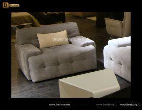 Диван Боннучи (Тканевый, Прямой, Капитоне) каталог мебели с ценами