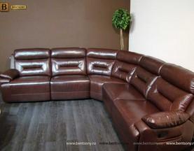 купить кожаный угловой диван Амелия