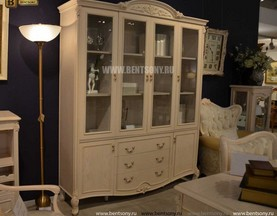 Книжный шкаф Флетчер-W (Классика, массив дерева) каталог с ценами