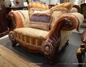 Кресло Вагнер С классическое (Подлокотники кожа) купить