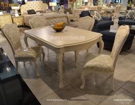 Стол обеденный прямоугольный Флетчер-W (Классика, массив дерева) каталог мебели с ценами